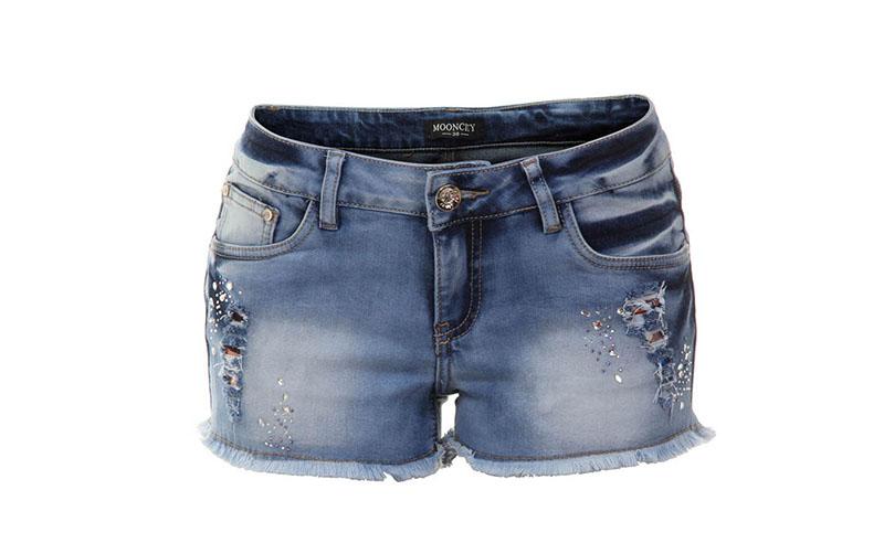 "Shorts jeans Mooncity por R$79,99 na <a href=""http://www.passarela.com.br/feminino/produto/6400776864/Shorts-Mooncity-260004----Jeans/"" target=""blank_"">Passarela</a>"