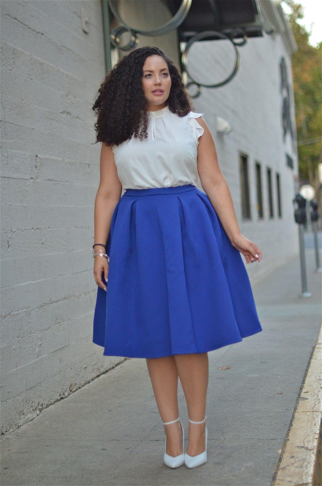"Foto: Reprodução / <a href=""http://girlwithcurves.com/post/100465802897/faux-paux"" target=""_blank"">Girl with curves</a>"