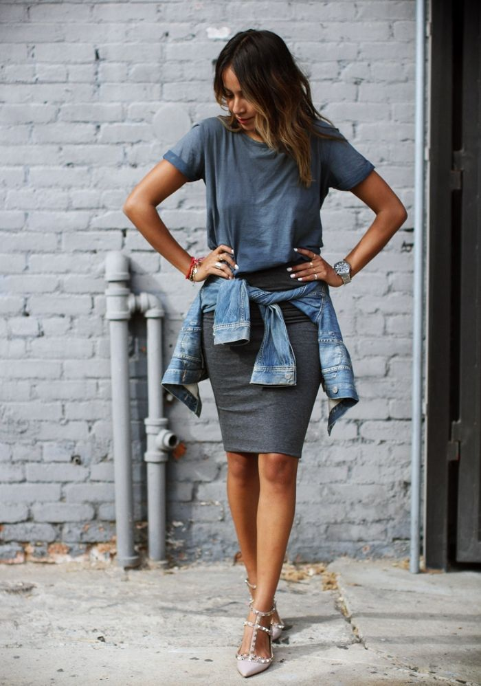 "Foto: Reprodução / <a href=""http://sincerelyjules.com/2014/09/rockin-gray.html"" target=""_blank"">Sincerely, Jules</a>"