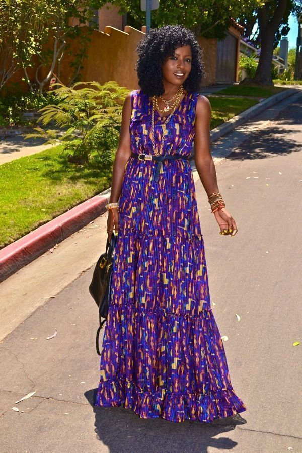 "Foto: Reprodução / <a href=""http://stylepantry.com/2012/07/16/jewel-by-lisa-tiered-silk-maxi-dress/"" target=""_blank"">Style Pantry</a>"