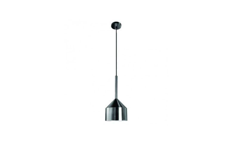 """Luminária pendente de metal por R$273,00 na <a href=""""https://www.boutiquedoslustres.com.br/luminaria-pendente-cobre-cromado"""" target=""""blank_"""">Boutique dos Lustres</a>"""
