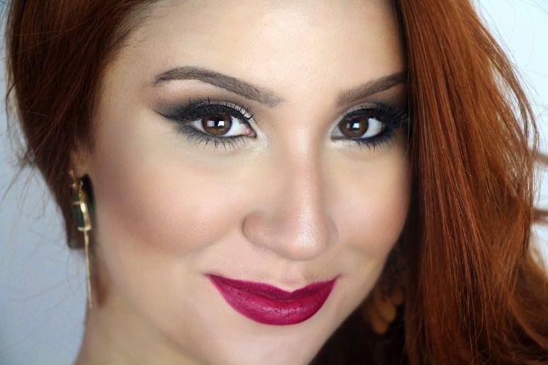 """Foto: Reprodução / <a href=""""http://bocarosablog.com/2014/07/maquiagem-inspirada-na-raka-minelli.html"""" target=""""_blank"""">Boca Rosa</a>"""