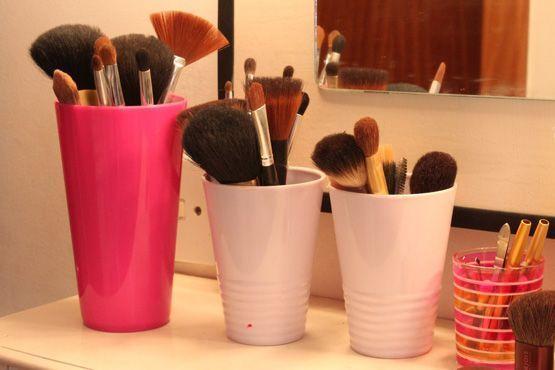 maneiras diferentes organizar itens maquiagem3 Maneiras diferentes para organizar os itens de maquiagem