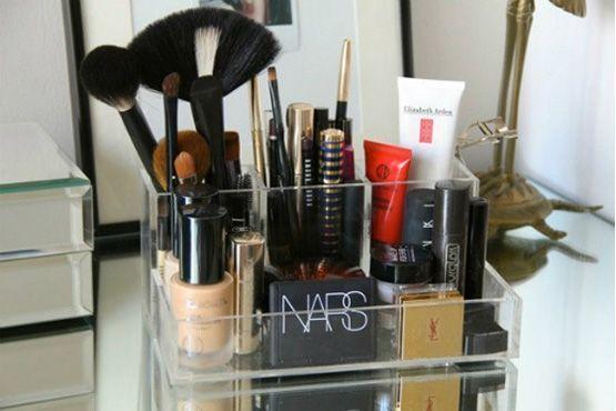 maneiras diferentes organizar itens maquiagem4 Maneiras diferentes para organizar os itens de maquiagem