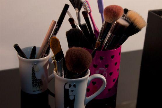 maneiras diferentes organizar itens maquiagem5 Maneiras diferentes para organizar os itens de maquiagem