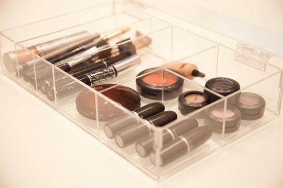 maneiras diferentes organizar itens maquiagem8 Maneiras diferentes para organizar os itens de maquiagem
