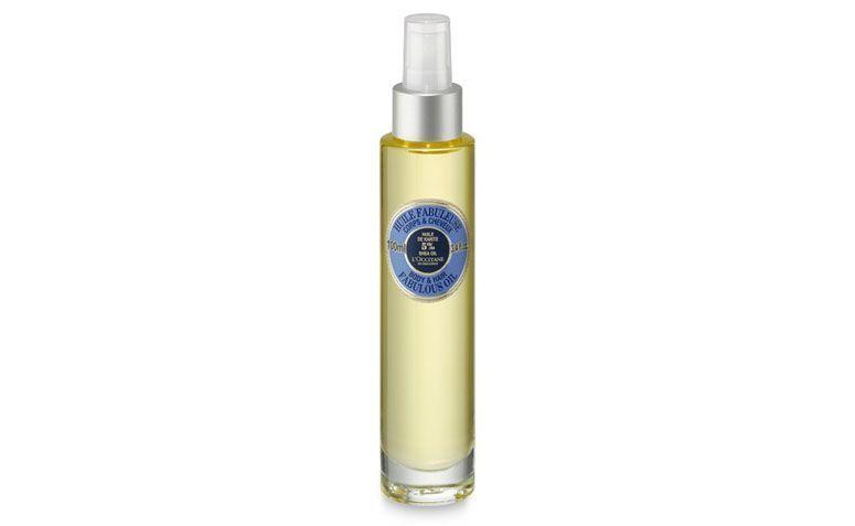 """Óleo hidratante corporal karité L'occitane por R$125 na <a href=""""http://br.loccitane.com/%C3%B3leo-hidratante-corporal-karit%C3%A9,43,2,4563,600772.htm"""" target=""""blank_"""">L'occitane</a>"""