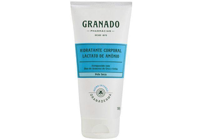 "Hidratante Corporal Granado Lactato de Amônio por R$ 50,99 na <a href=""https://ad.zanox.com/ppc/?34939348C12211804&ULP=[[http://www.netfarma.com.br/produto/25215/hidratante-corporal-granado-lactato-de-amonio?utm_source=zanox&utm_medium=cpa&utm_content=deeplinkgen&utm_campaign=zanox]]"" rel=""nofollow"" target=""blank_"">Netfarma</a>"
