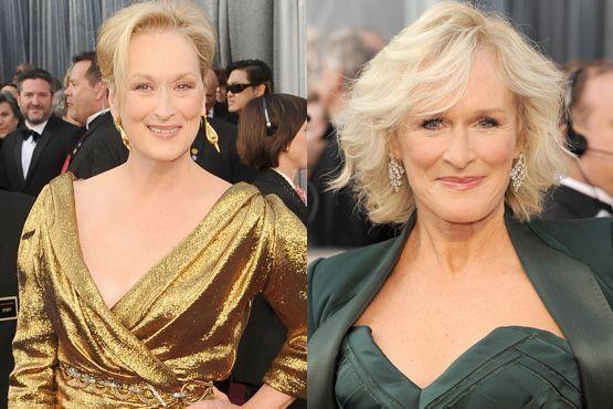 c Maquiagem e penteados do Oscar 2012