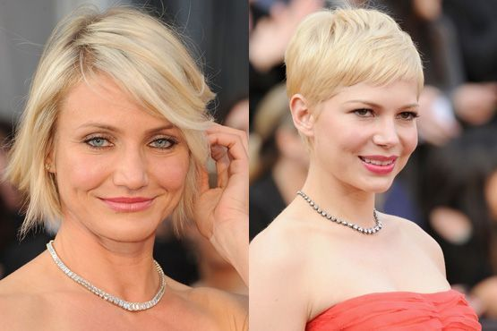 d Maquiagem e penteados do Oscar 2012