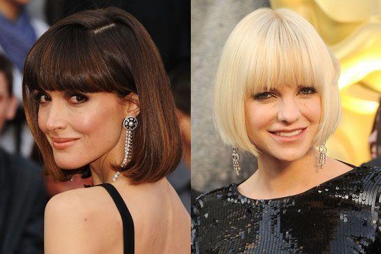 h Maquiagem e penteados do Oscar 2012