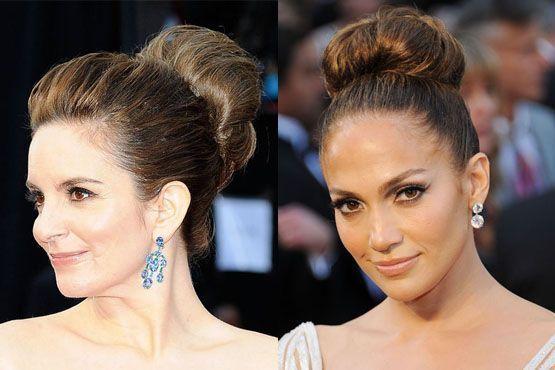 i Maquiagem e penteados do Oscar 2012