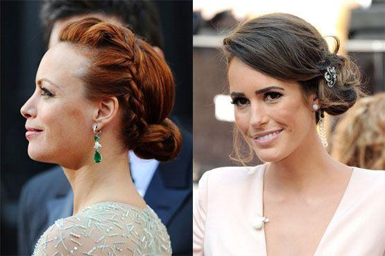 k Maquiagem e penteados do Oscar 2012