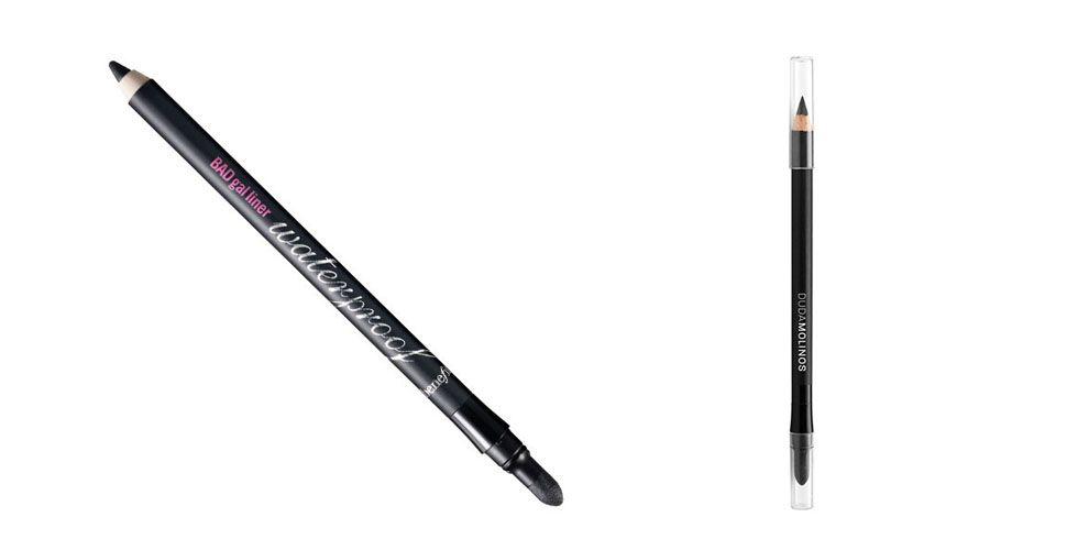 <p>pensil hitam mata item penting lain untuk makeup. Untuk memastikan fiksasi yang baik perlu bahwa pensil memiliki pigmentasi yang baik. Pensil tahan air Manfaat terkenal untuk fiksasi dan warna intens, tapi pensil Duda Molinos juga memiliki karakteristik yang sama dan harga yang lebih terjangkau. </p><p>Eyeliner BADgal Ekstra Hitam - Manfaat untuk R $ 89 di Sephora Shop.</p><p>Black eyeliner - Duda Molinos oleh R $ 30 di apotek dan kosmetik toko yang menjual merek. </p>