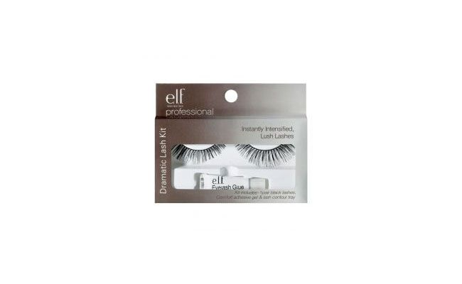 Elf false eyelashes with glue for R $ 11.90 in Palettes, Brushes and Co.
