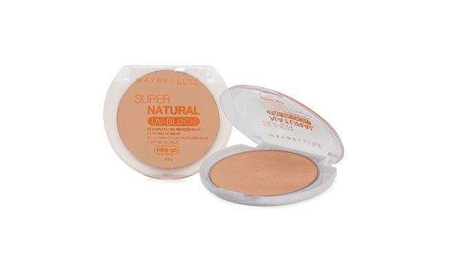 Jauhe kompakti SPF 30 Maybelline Super Luonnollinen valo 01 $ 21.50 Charming Cosmetics