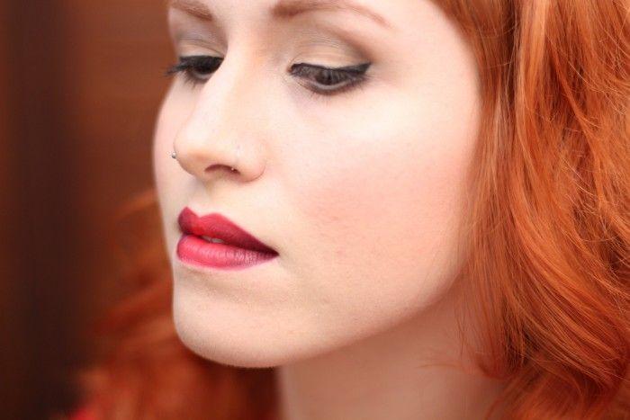 """Foto: Reprodução / <a href=""""http://frescurinha.com.br/2014/08/tutorial-aprenda-fazer-ombre-lips.html"""" target=""""_blank"""">Frescurinha</a>"""