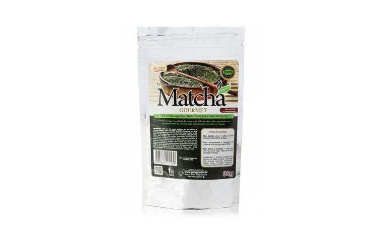 "Matchá Gourmet 30g por R$22,90 na <a href=""http://ad.zanox.com/ppc/?29470371C10967541&ULP=[[http://www.natue.com.br/matcha-gourmet-30g-grings-72374.html?utm_source=Zanox&utm_medium=Afiliados&utm_campaign=deeplink]]"" target=""blank_"">Natue</a>"