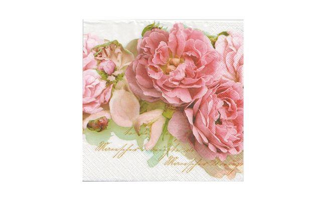 """Guardanapo flores 2un por R$ 1,99 no <a href=""""http://www.palaciodaarte.com.br/guardanapo_flores_rosadas_2un_g211253_tec/p"""" target=""""blank_"""">Palácio da Arte</a>"""