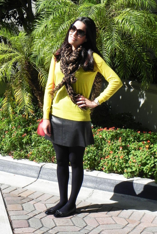 """Foto: Reprodução / <a href=""""http://www.blogdamariah.com.br/index.php/2012/01/look-do-dia-amarelo-em-miami/"""" target=""""_blank"""">Blog da Mariah</a>"""