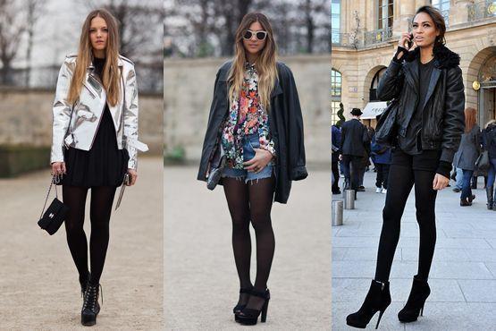meia preta7 Meia calça preta é peça chave para os dias frios