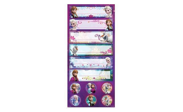 """Adesivo decorativo Frozen por R$8,52 na <a href=""""http://www.magazine25.com.br/p/adesivo-decorativo-frozen-disney--03-cartelas"""" target=""""blank_"""">Magazine 25</a>"""