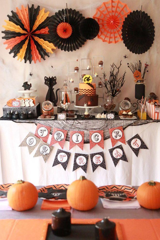 "Foto: Reprodução / <a href=""http://pizzazzerie.com/parties/childrens-parties/halloween-chocolate-bar-party/"" target=""_blank"">Pizzazzerie</a>"