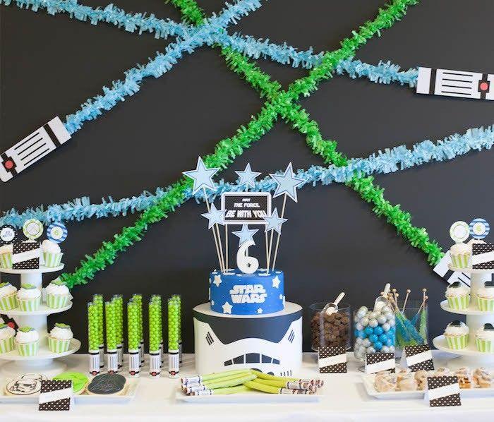 "Foto: Reprodução / <a href=""http://www.petitepartystudio.com/2015/05/star-wars-birthday-party/"" target=""_blank"">Petit Party Studio</a>"