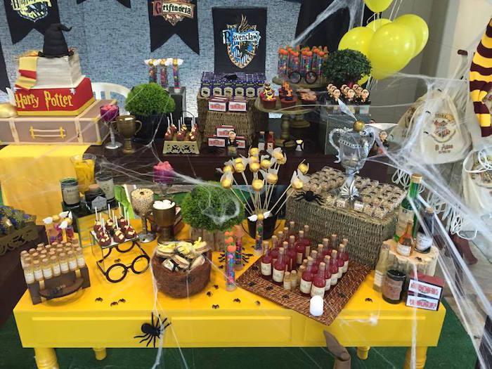 "Foto: Reprodução / <a href=""http://www.karaspartyideas.com/2015/07/harry-potter-birthday-party-3.html"" target=""_blank"">Kara's Party Ideas</a>"