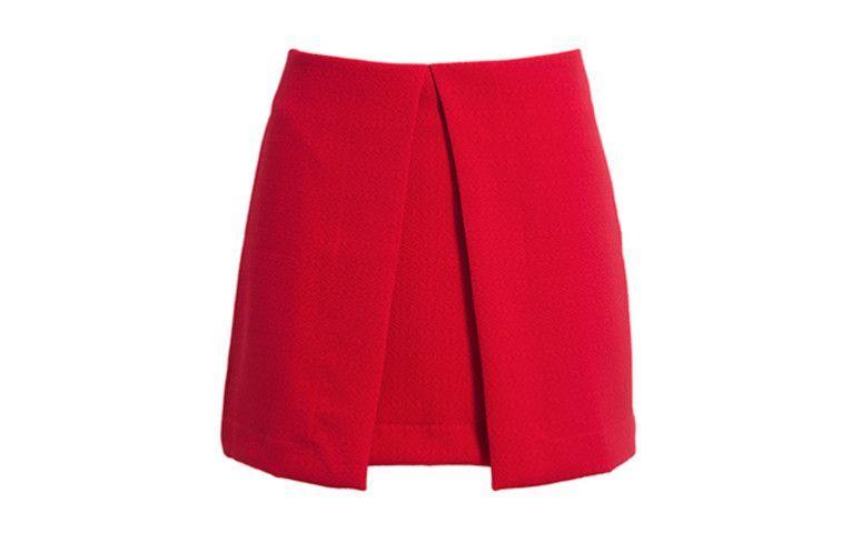 Eklektik etek bindirme - OQ Dressing içinde $ 229.00 için kırmızı