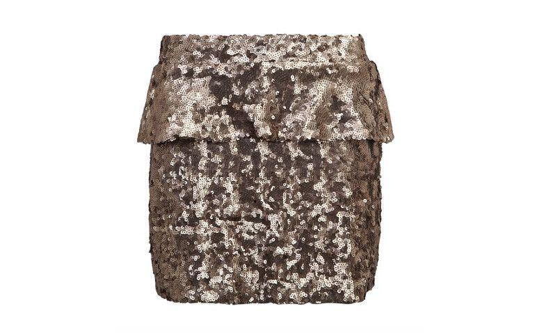 R tarafından Bronz mini etek Colcci Dafiti içinde $ 254.99