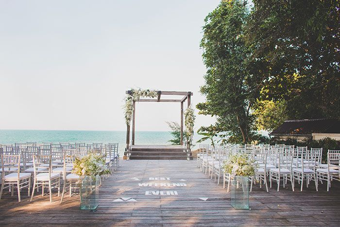 "Foto: Reprodução / <a href=""http://www.greylikesweddings.com/real-weddings/catherine-raymonds-destination-wedding-thailand/"" target=""_blank"">Grey Likes Weddings</a>"