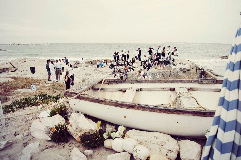 """Foto: Reprodução / <a href=""""http://www.theprettyblog.com/wedding/werner-liesel-beach-bum-wedding/"""" target=""""_blank"""">The pretty blog</a>"""