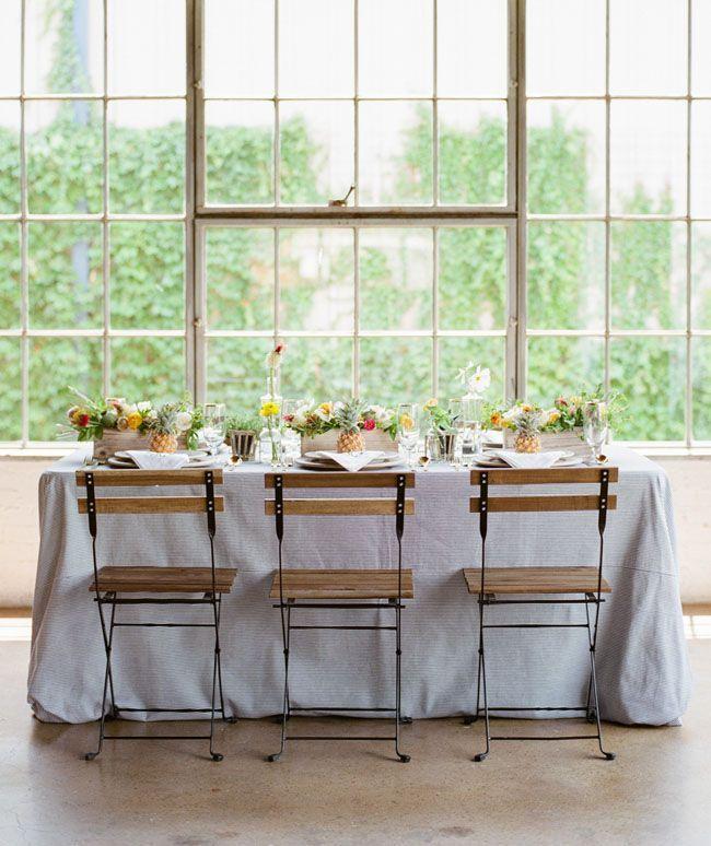 "Foto: Reprodução / <a href=""http://greenweddingshoes.com/kate-spade-meets-key-west-wedding-inspiration/"" target=""_blank"">Green wedding shoes</a>"