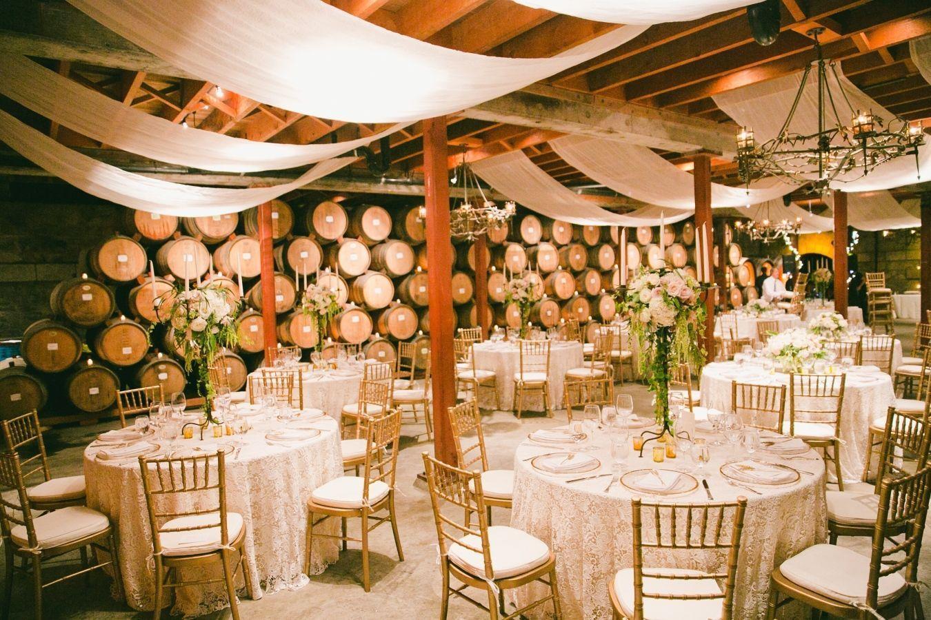 "Foto: Reprodução / <a href=""http://www.stylemepretty.com/little-black-book-blog/2015/03/31/elegant-saint-helena-vineyard-wedding/"" target=""_blank"">Style me pretty</a>"