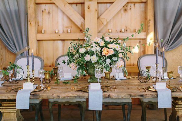 """Foto: Reprodução / <a href=""""http://heyweddinglady.com/rustic-sophistication-wedding-shoot-wine-country/"""" target=""""_blank"""">Hey wedding lady</a>"""