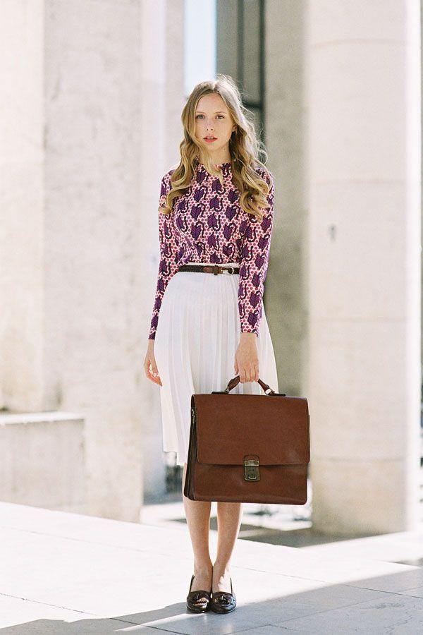 "Foto: Reprodução / <a href=""http://www.vanessajackman.blogspot.com.br/2013/05/paris-fashion-week-ss-2013marie.html"" target=""blank_"">Vanessa Jackman</a>"