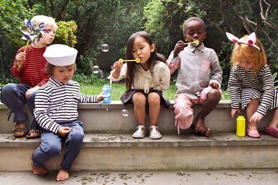 a for apple opening ceremony lookbook 0 Moda para crianças   meninos