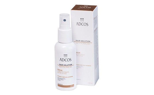 """Sérum Nutri Ativo por R$77 na <a href=""""http://www.lojaadcos.com.br/hair-solution-serum-concentrado-nutri-ativo-120-ml/p"""" target=""""blank_"""">ADCOS</a>"""