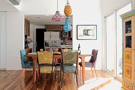 12 moveis decorados Móveis estampados na decoração