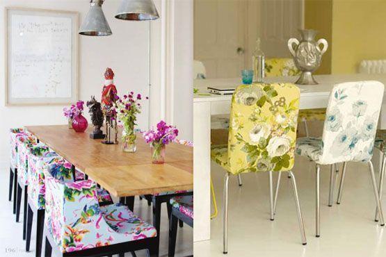 13 moveis decorados Móveis estampados na decoração