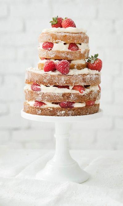 """Foto: Reprodução / <a href=""""http://www.designlovefest.com/2015/02/how-to-make-a-naked-cake/"""" target=""""_blank"""">Desing Love Fest</a>"""