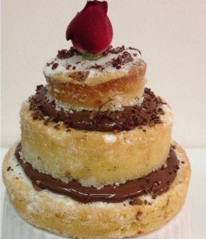 """Foto: Reprodução / <a href=""""http://www.penacozinha.com/mini-naked-cake/"""" target=""""_blank"""">Pé na cozinha</a>"""