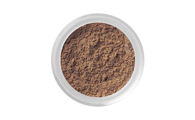 "Sombra marrom mineral Bare Minerals por R$52 na <a href=""http://www.sephora.com.br/bareminerals/maquiagem/olhos/delineador-brow-color-12677"" target=""_blank"">Sephora</a>"