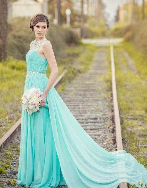 "Foto: Reprodução / <a href=""http://www.wedbits.com/2014/08/tiffany-blue-wedding-blossoms/"" target=""_blank"">Wedbits</a>"