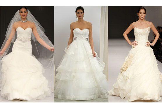 2 Tendências em vestidos de noiva do NY Bridal Week 2012