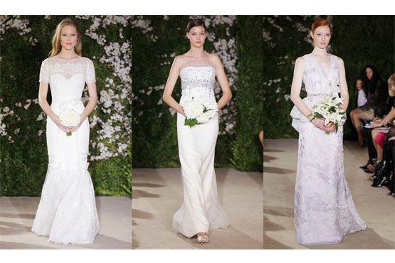 5 Tendências em vestidos de noiva do NY Bridal Week 2012