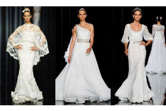 7 Tendências em vestidos de noiva do NY Bridal Week 2012
