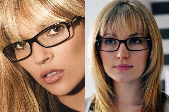 oculos cabelo franja2 O modelo de óculos ideal para quem tem franja
