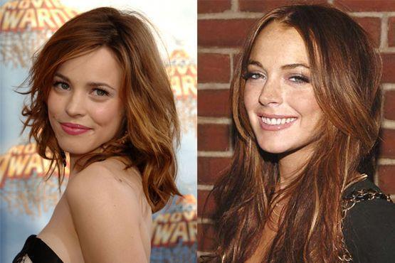 Rachel Mcadams e Lindsay Lohan